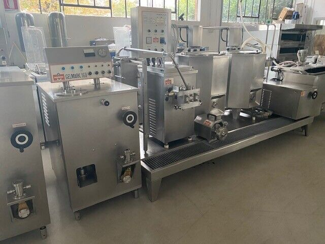 Complete industrial line for gelato industry used 2