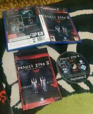 Project zero ii 2 ps2 playstation 2 gioco completo originale black