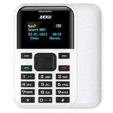 "AEKU C8 Telefono Cellulare GSM 1,3"" LCD Bluetooth SD Card Mini USB 500"