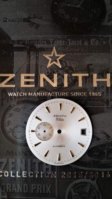 Zenith elite quadrante originale
