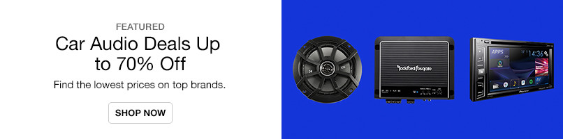 Car Audio Deals up to 70% Off
