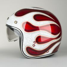 Casco Airoh Riot Red Flame
