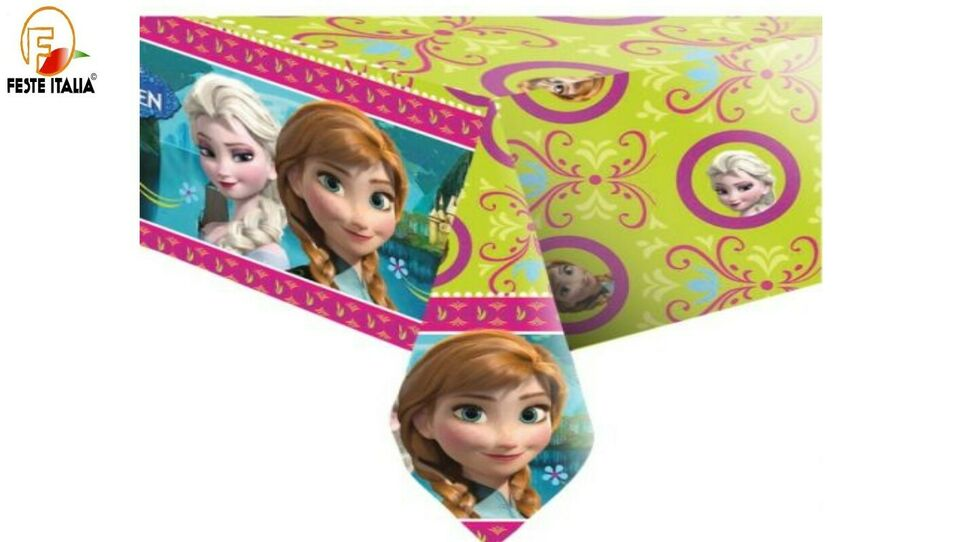 Kit party frozen compleanno a tema Principesse 5