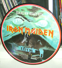 """Iron Maiden """"Scaling New Heights"""" picture disc"""