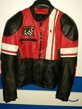 Dainese D7 Giacca moto in pelle taglia 50