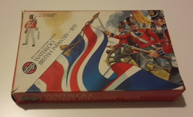 Soldatini, Waterloo british infantry 1815 AIRFIX