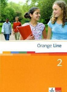 Orange-Line-2-Schuelerbuch-von-Frank-Hass-2006-Gebunden