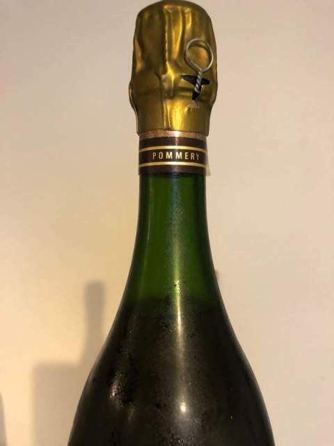 Champagne cuvee speciale Louise Pommery vintage 1985 3