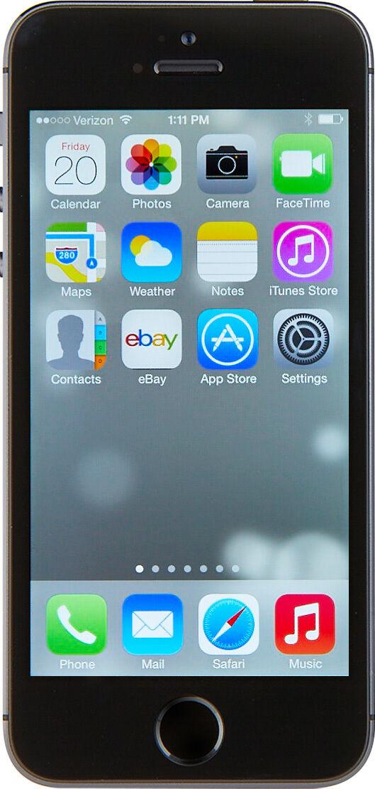 Apple iPhone 5s - 64GB - Space Gray (Verizon) A1533 (CDMA + GSM)