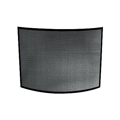 Those who prefer a curved fireplace screen but want a black version can  choose the UniFlame S-1042. The screen is the same as the S-1667 and the  S-1613 ... - Top 7 UniFlame Fireplace Screens EBay
