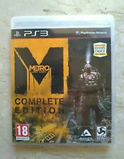 Metro Last Light COMPLETE EDITION PS3 Limited Playstation 3