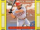 Ivan Rodriguez Texas Rangers Pacific Baseball Cards
