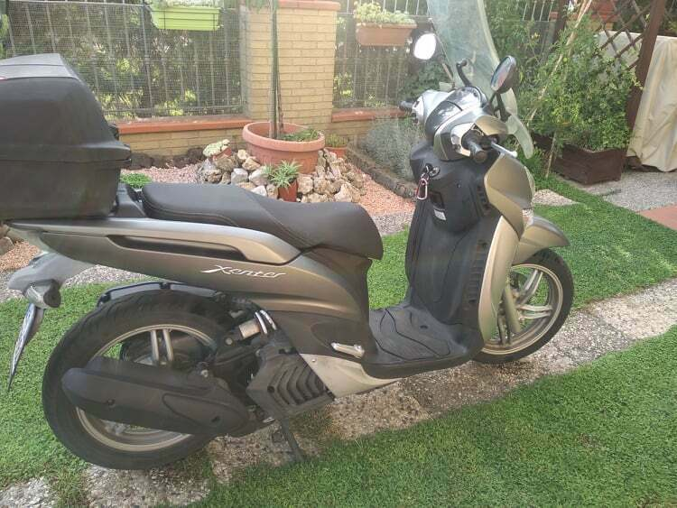 Scooter yamaha xcenter 155 del 2017