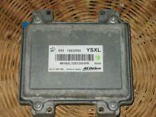 Ecu opel z18xer engine control unit ysxl 12632592, 12621466
