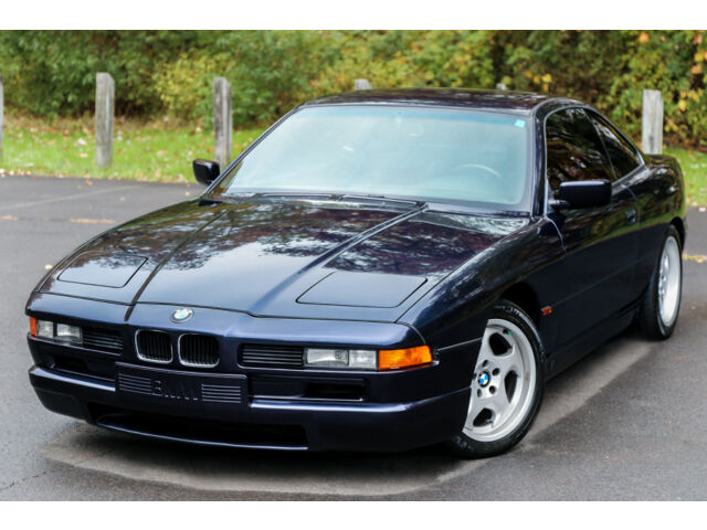 1994 bmw 850csi m8 6speed manual v12 69k mi southern serviced carfax rare used bmw 8. Black Bedroom Furniture Sets. Home Design Ideas