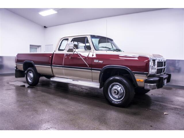 1992 Dodge Ram D250 4x4 5 9l I6 Turbo Cummins Diesel