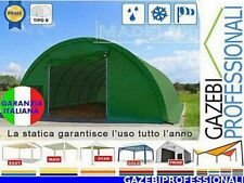 Capannone 20x9 deposito rotoballe agritunnel PVC