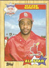 Topps Ozzie Smith Lot Post-WWII (1942-1980) Baseball Cards
