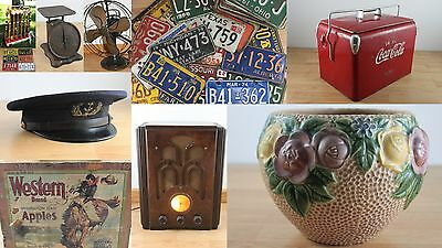 Vintage License Plates and More