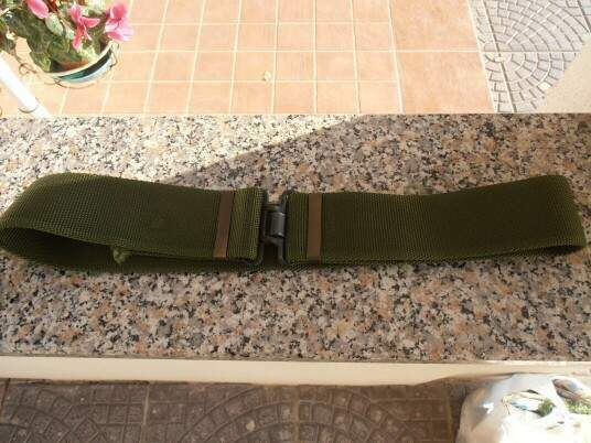 British army service belt