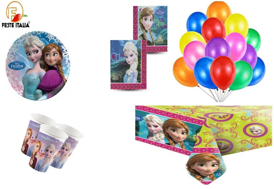 Kit party compleanno a tema frozen