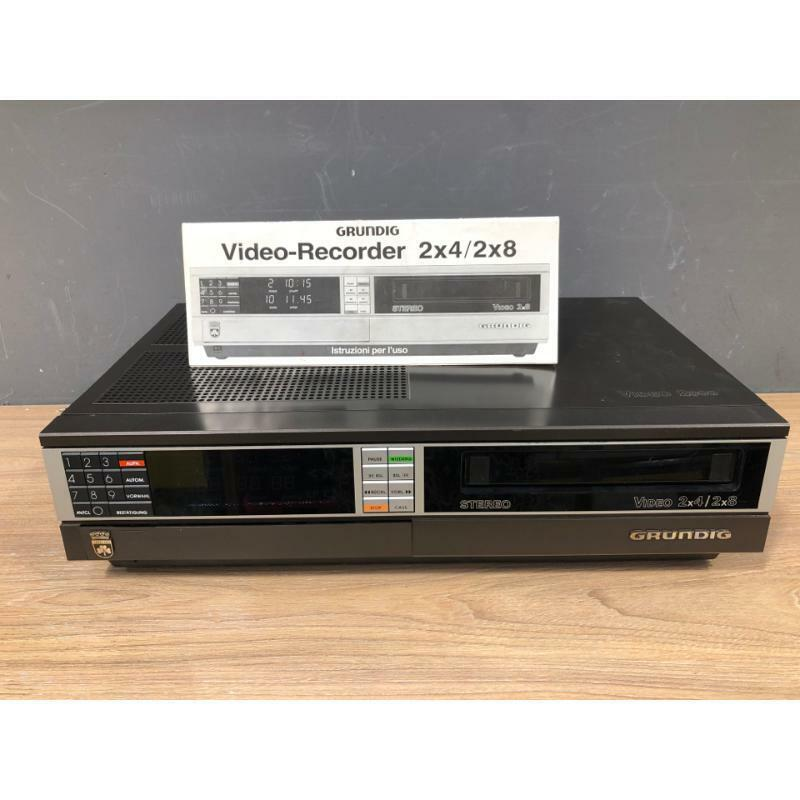 Lettore vhs professionale grundig video 2000