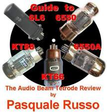KT88 6550 KT66 6L6 The Audio Beam tetrode review di Pasquale Russo