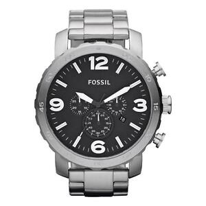 4f2505f5384 Fossil Nate Chronograph JR1353 Wrist Watch for Men for sale online ...