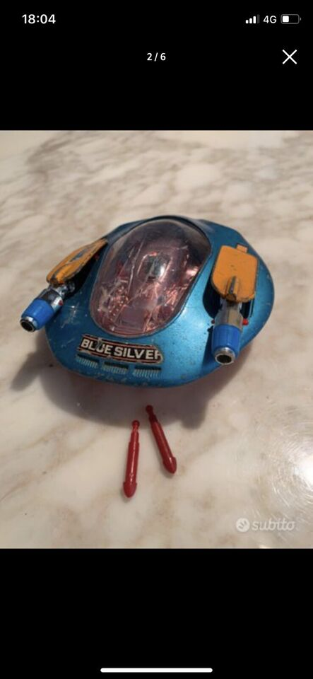 Astronave Blue Silver