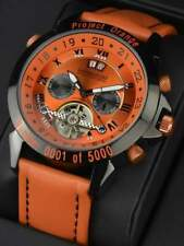 Orologio automatico calvaneo project orange limited editio 5000