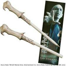 Noble Collections Harry Potter Voldemort Wand Pen And Bookmark Penna