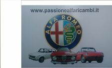 Ricambi per Alfa Romeo d'epoca, Giulia,Gt Junior,Spider