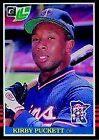 Donruss Kirby Puckett Baseball Cards