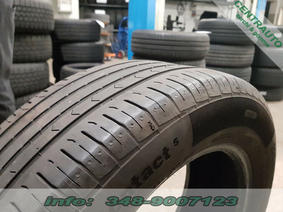 Gomme 225-60-17 99V Continental Estive Usate 2
