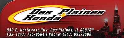 Des Plaines Honda Parts