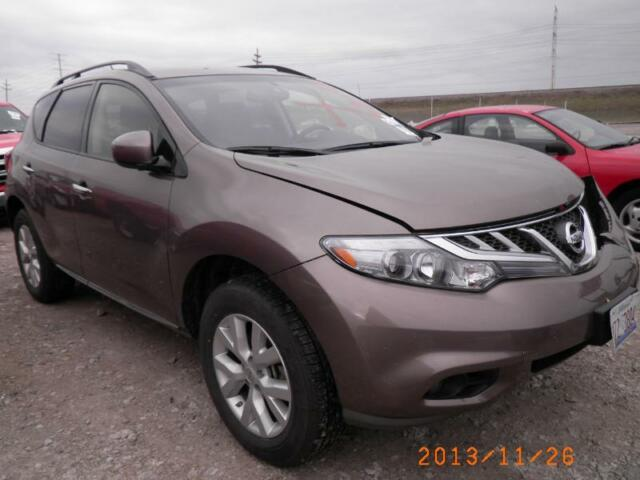 2013 nissan murano awd sv salvage repairable fix and save repair no reserve wow used nissan. Black Bedroom Furniture Sets. Home Design Ideas