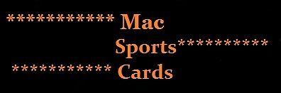 MAC Sports Cards