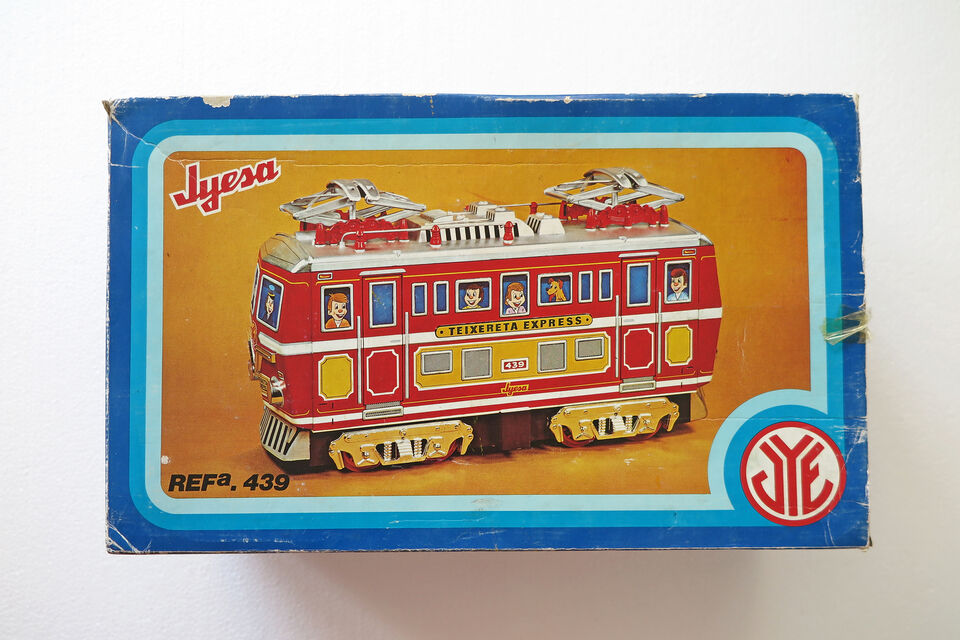 Giocattolo Vintage Latta - TEIXERETA EXPRESS -...