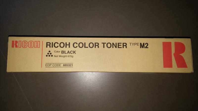 Toner Fotocopiatrice Ricoh Color Type M2 Original products NUOVO