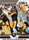 Ben Roethlisberger Lot Pittsburgh Steelers Football Cards