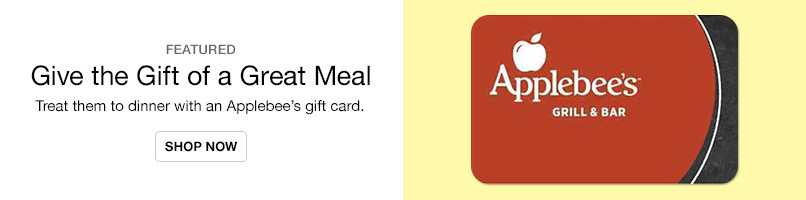 Gift Cards - Applebees
