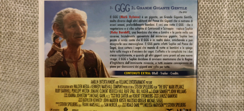 Blu Ray di Nolan, Spielberg e Gilliam 3