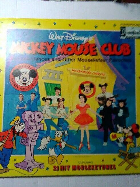 Walt Disney LIBRO + DISCO 33 Giri , DISNEYLAND 3