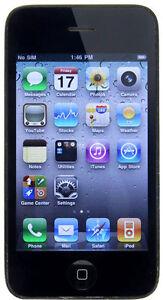 Apple iPhone 3GS - 8GB - Black (AT&T) Sm...