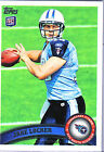 Football Trading Cards & Stickers (Jake Locker