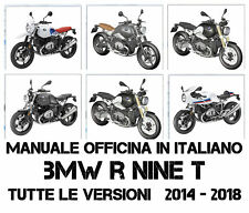 Manuale Officina in Italiano BMW R NINE T 2014 - 2018