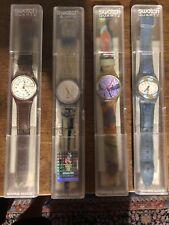 Swatch vintage Anni 80-90 con custodia