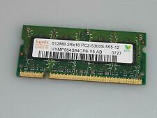 RAM notebook HYNIX 512 MB DDR2