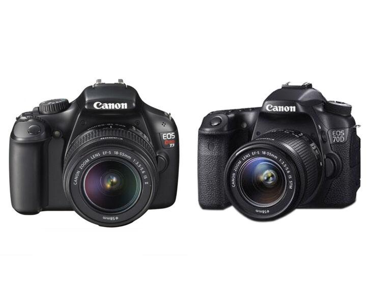 Canon EOS Rebel T3 vs Canon EOS 7D