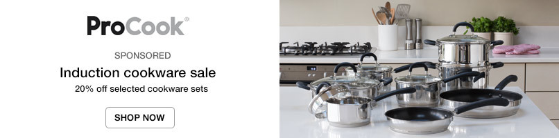 Induction cookware sale